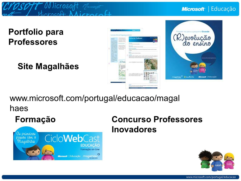 Portfolio para Professores