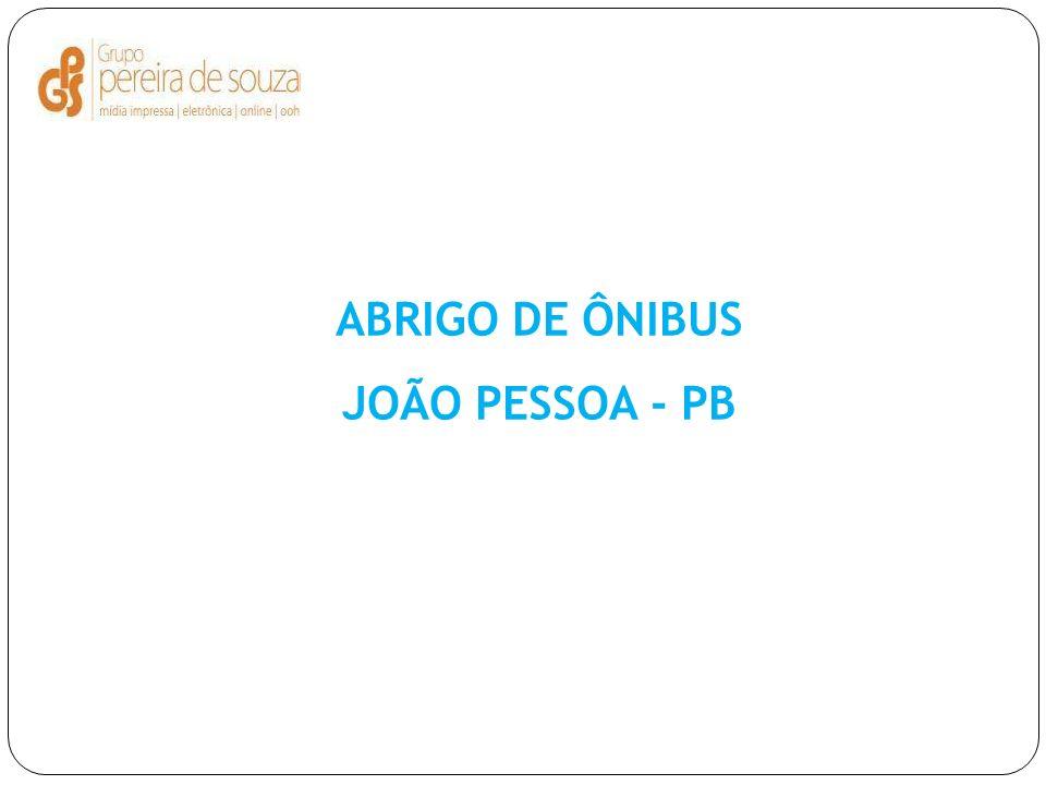 ABRIGO DE ÔNIBUS JOÃO PESSOA - PB
