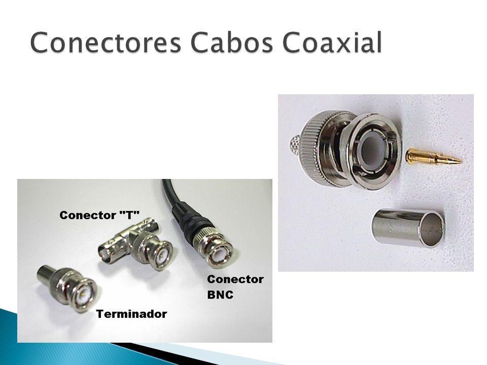 Conectores Cabos Coaxial