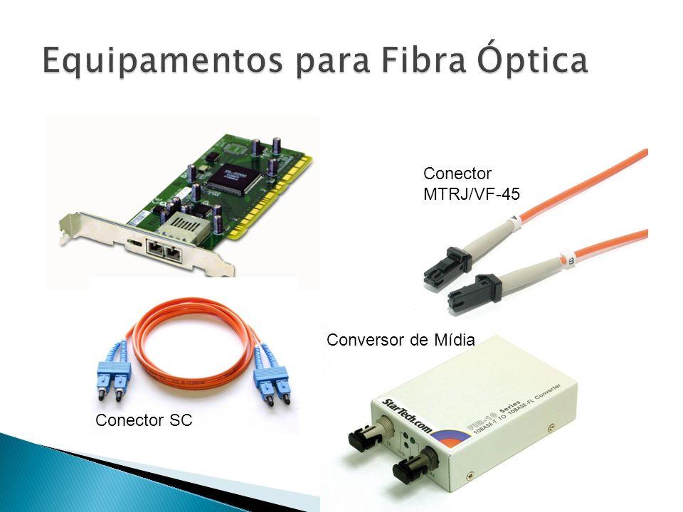 Equipamentos para Fibra Óptica