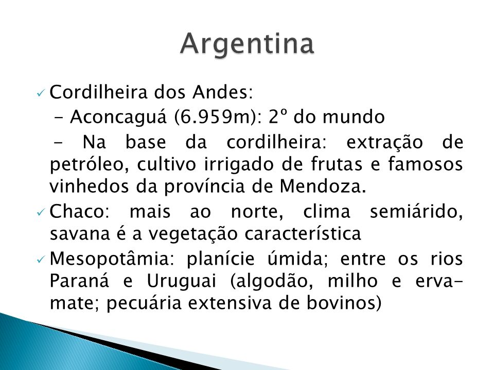 Argentina Cordilheira dos Andes: - Aconcaguá (6.959m): 2º do mundo