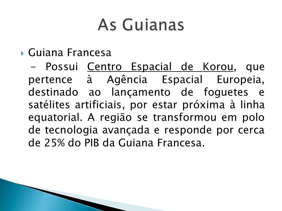 As Guianas Guiana Francesa