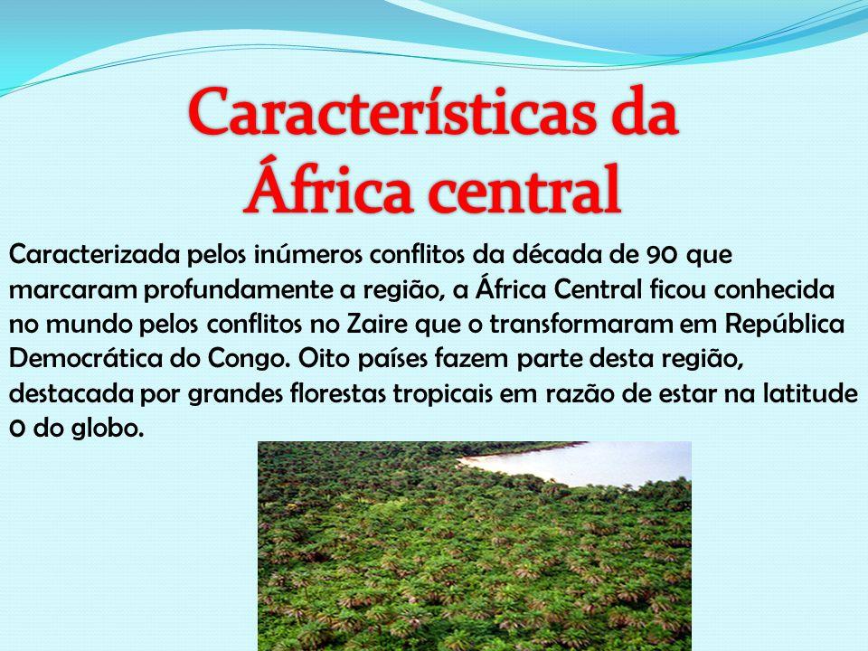 Características da África central