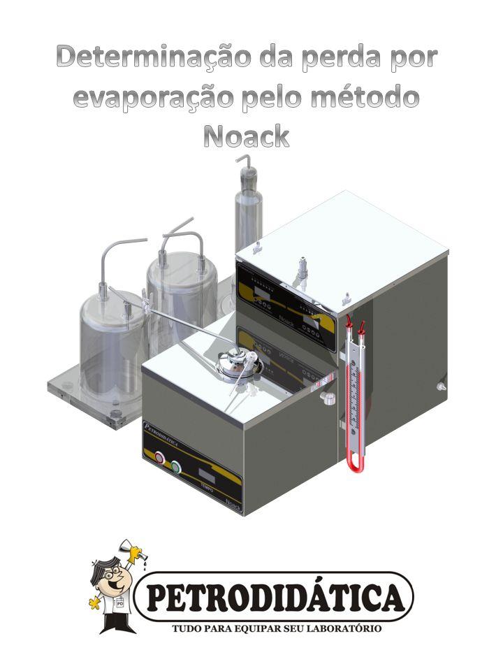 Determinação da perda por evaporação pelo método Noack