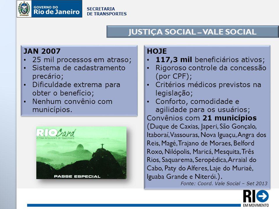 JUSTIÇA SOCIAL – VALE SOCIAL