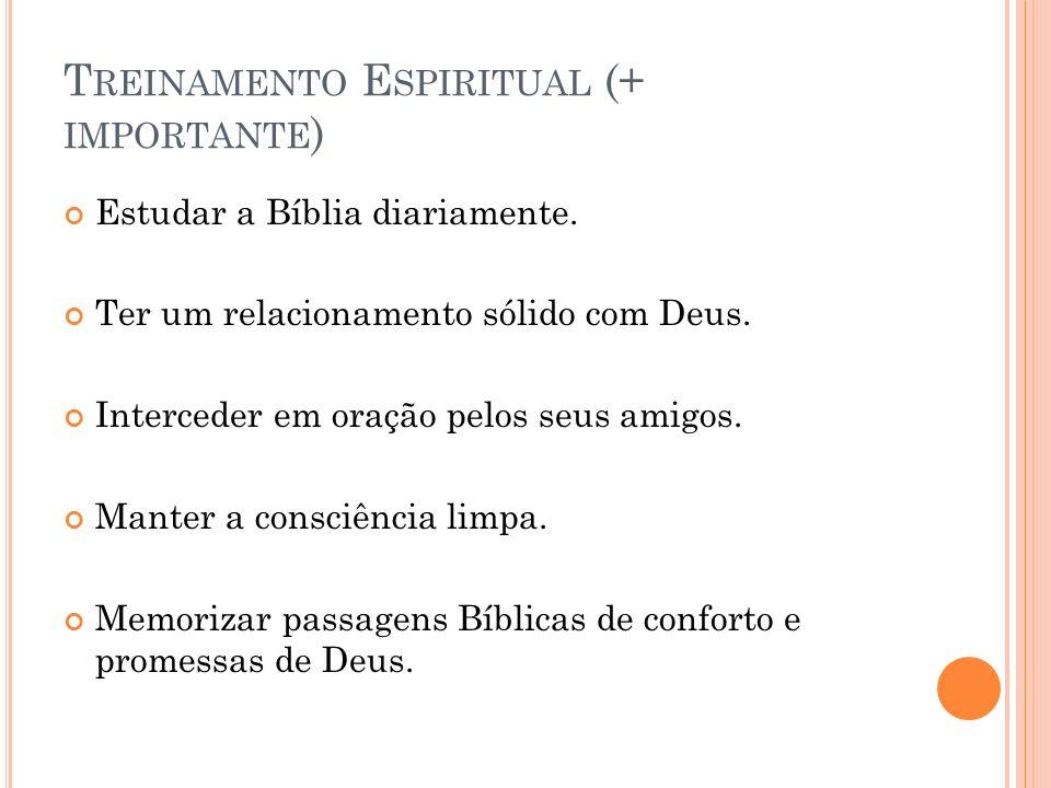 Treinamento Espiritual (+ importante)