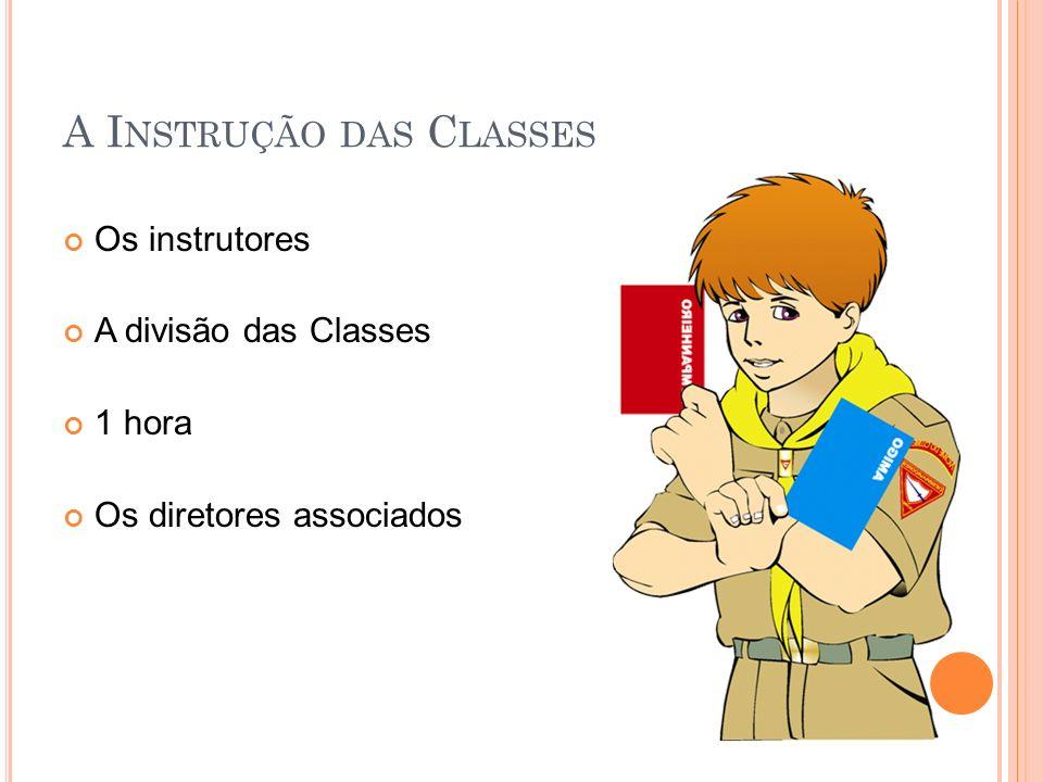 A Instrução das Classes