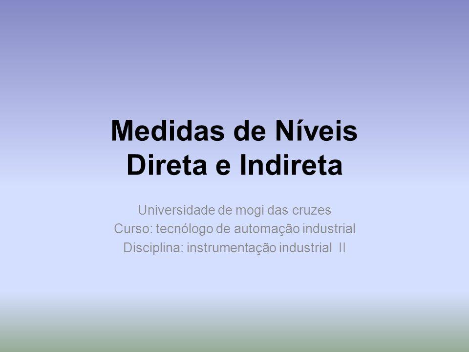 Medidas de Níveis Direta e Indireta