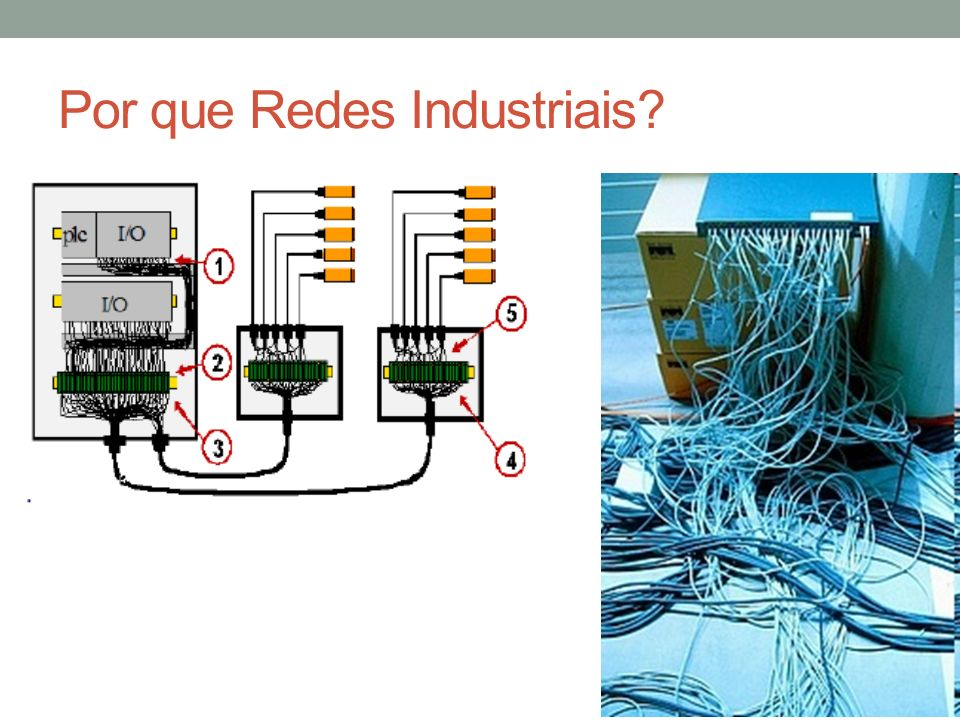 Por que Redes Industriais