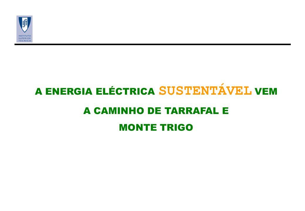 A ENERGIA ELÉCTRICA SUSTENTÁVEL VEM A CAMINHO DE TARRAFAL E