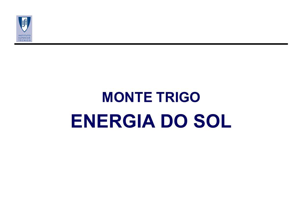 MONTE TRIGO ENERGIA DO SOL