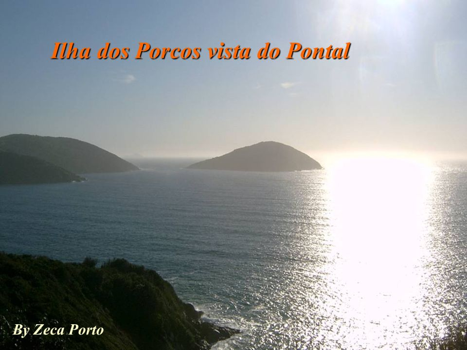 Ilha dos Porcos vista do Pontal