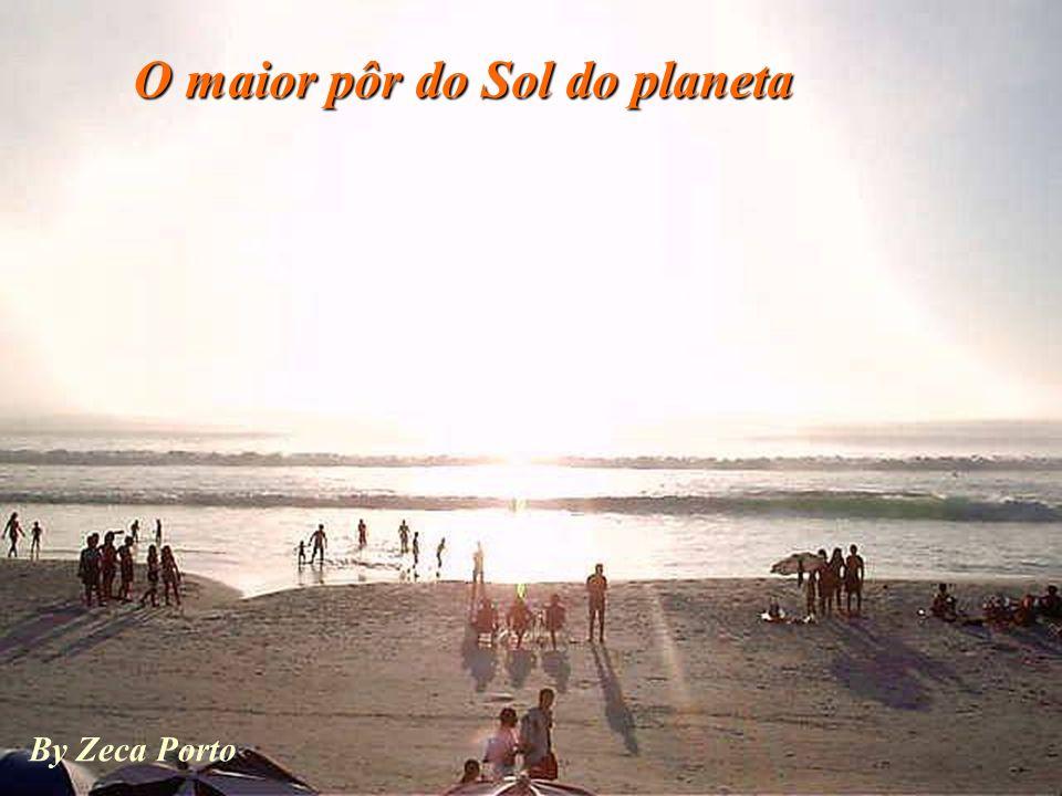 O maior pôr do Sol do planeta
