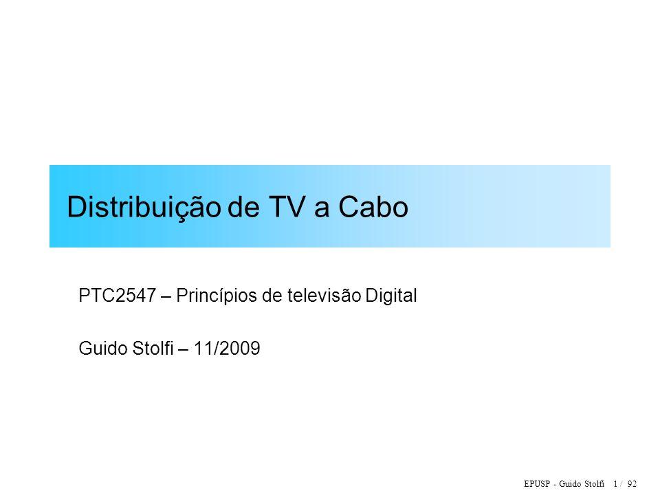 Distribuição de TV a Cabo