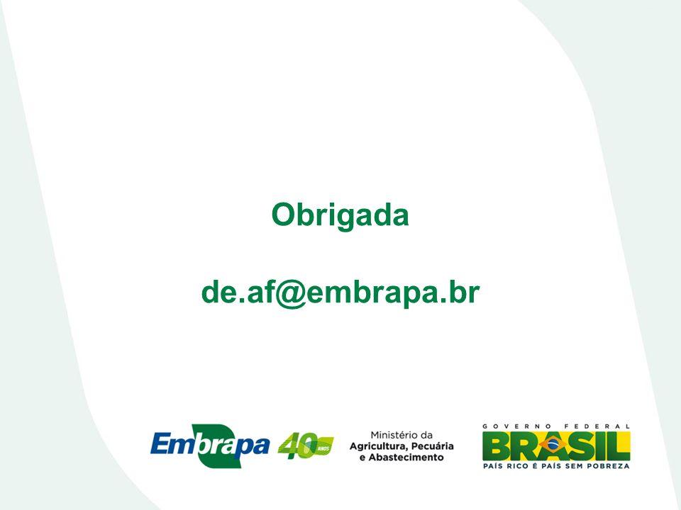 Obrigada de.af@embrapa.br