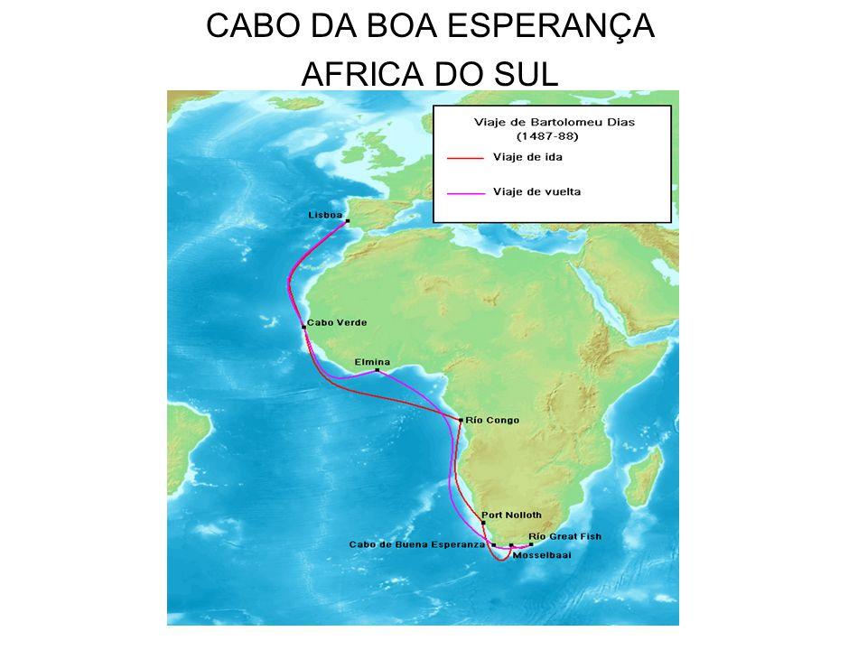 CABO DA BOA ESPERANÇA AFRICA DO SUL