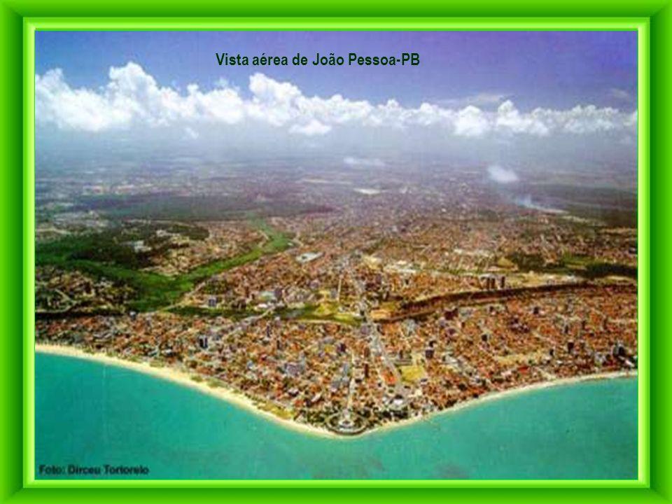 Vista aérea de João Pessoa-PB
