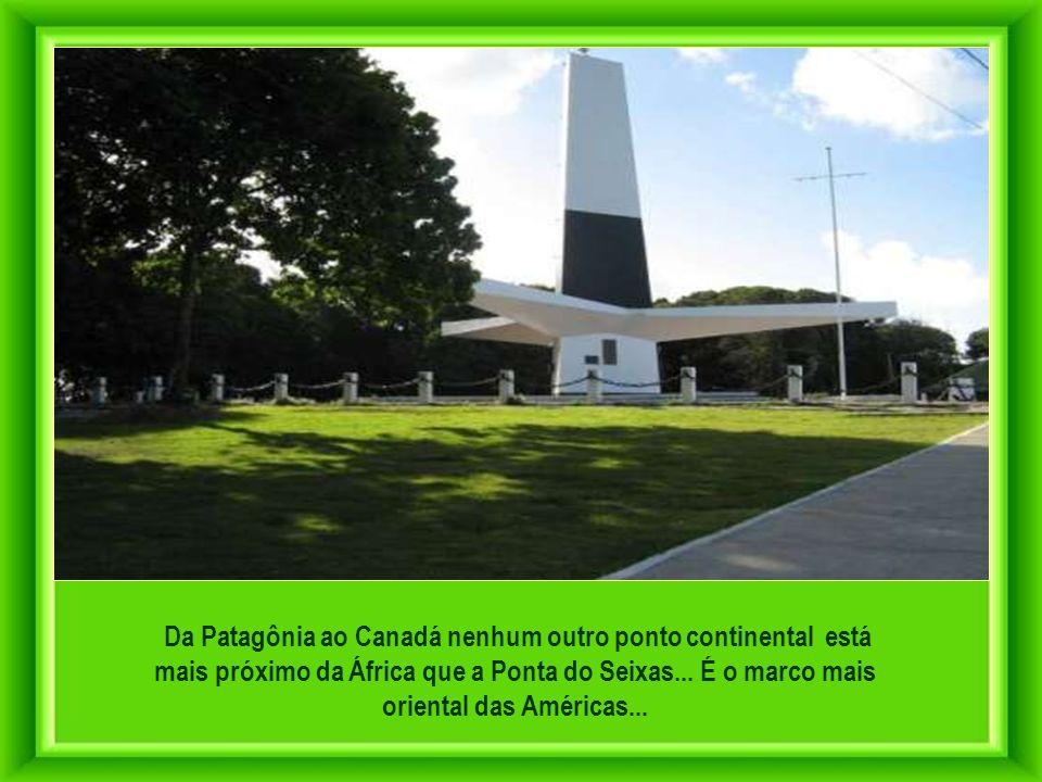 Da Patagônia ao Canadá nenhum outro ponto continental está