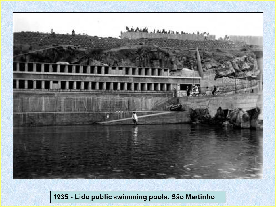 1935 - Lido public swimming pools. São Martinho