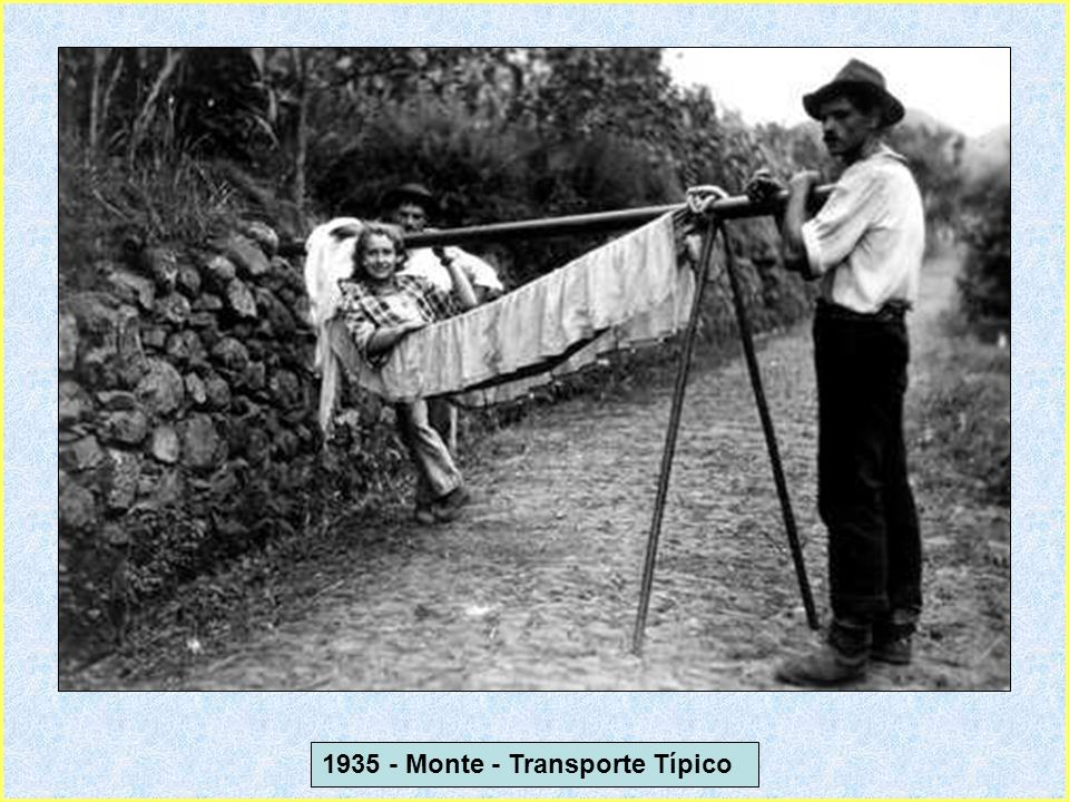 1935 - Monte - Transporte Típico