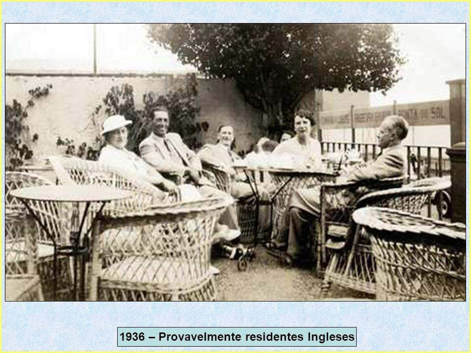 1936 – Provavelmente residentes Ingleses