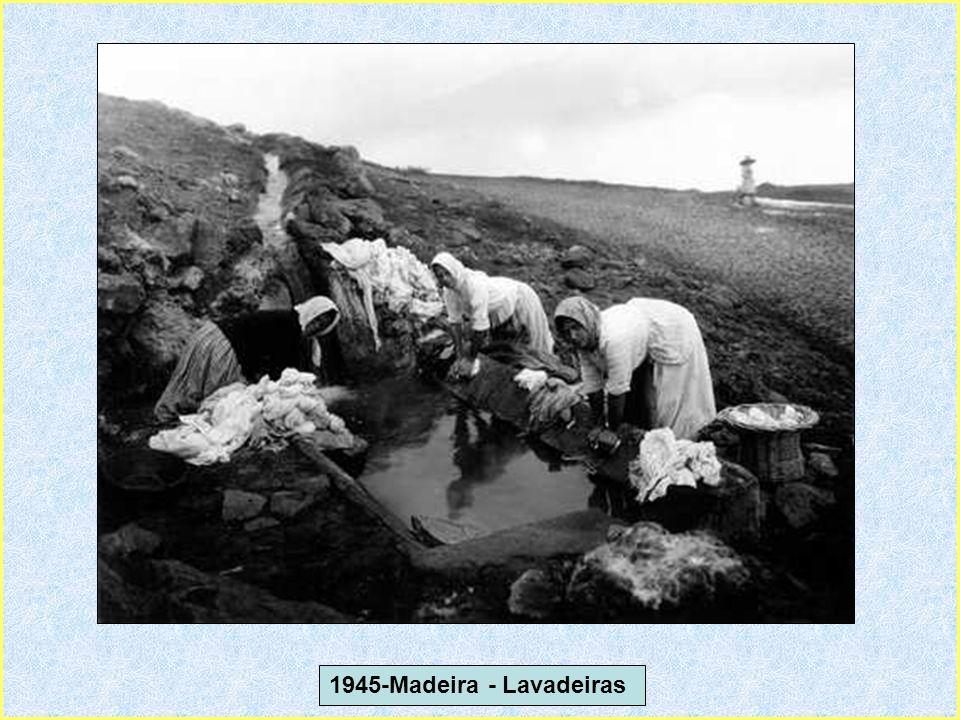 1945-Madeira - Lavadeiras