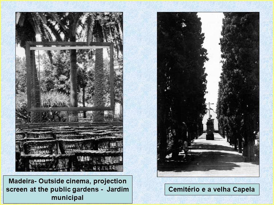 Cemitério e a velha Capela