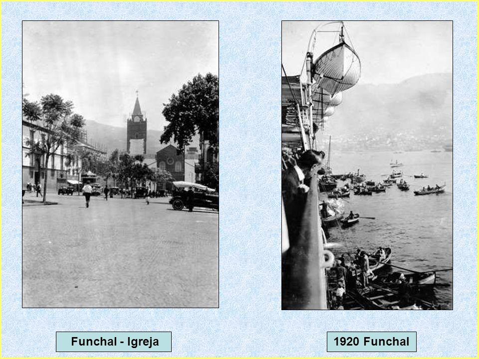 Funchal - Igreja 1920 Funchal