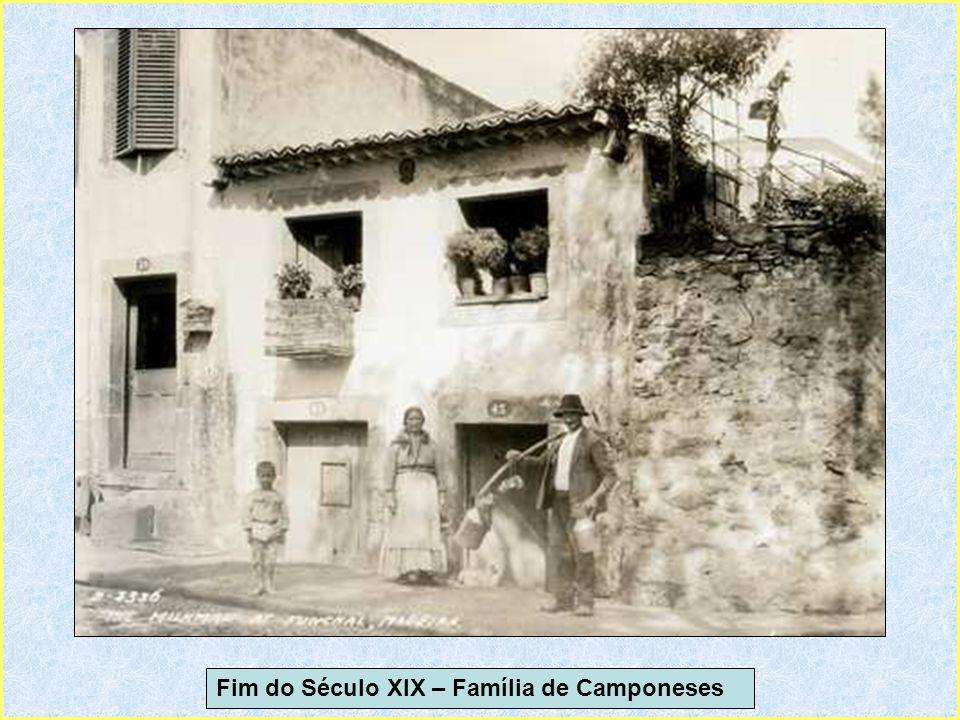 Fim do Século XIX – Família de Camponeses