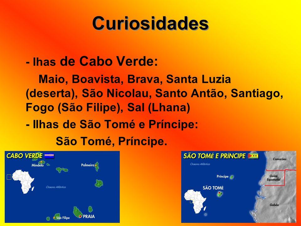 Curiosidades - lhas de Cabo Verde: