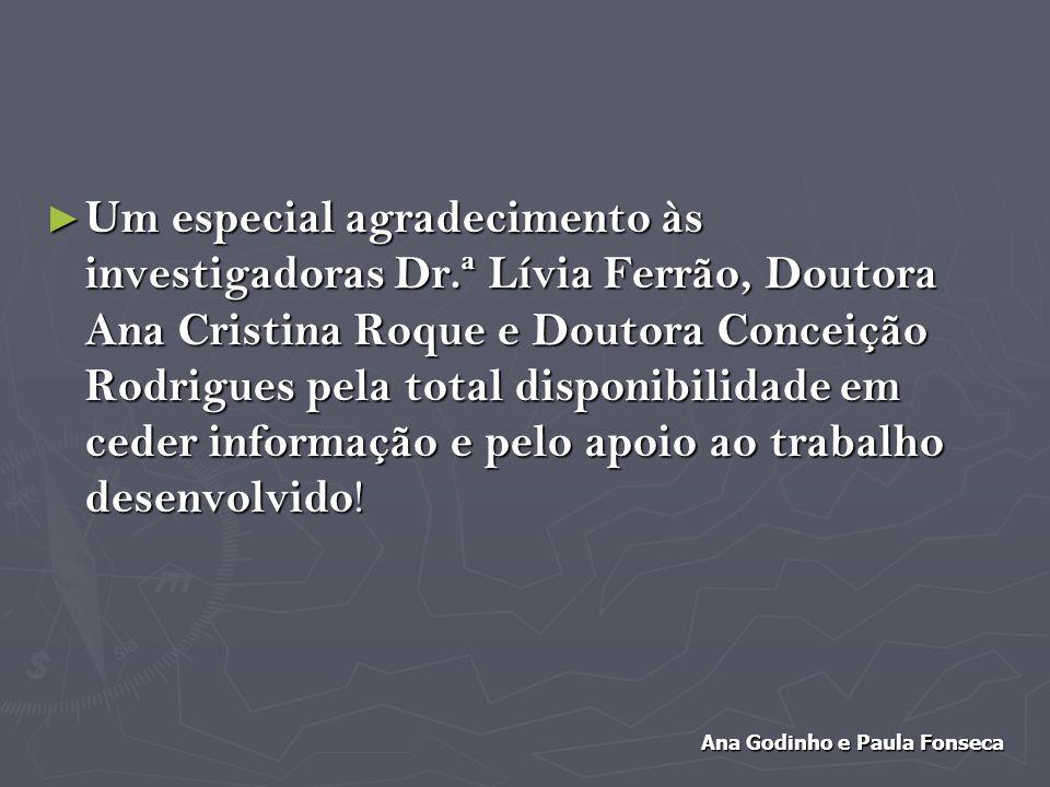 Ana Godinho e Paula Fonseca