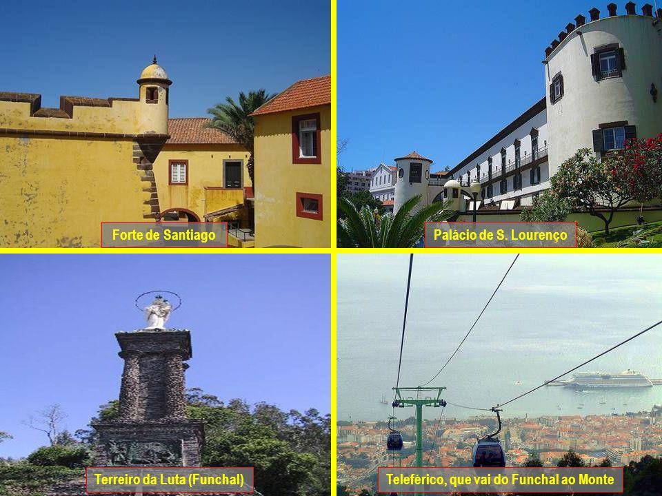 Terreiro da Luta (Funchal) Teleférico, que vai do Funchal ao Monte