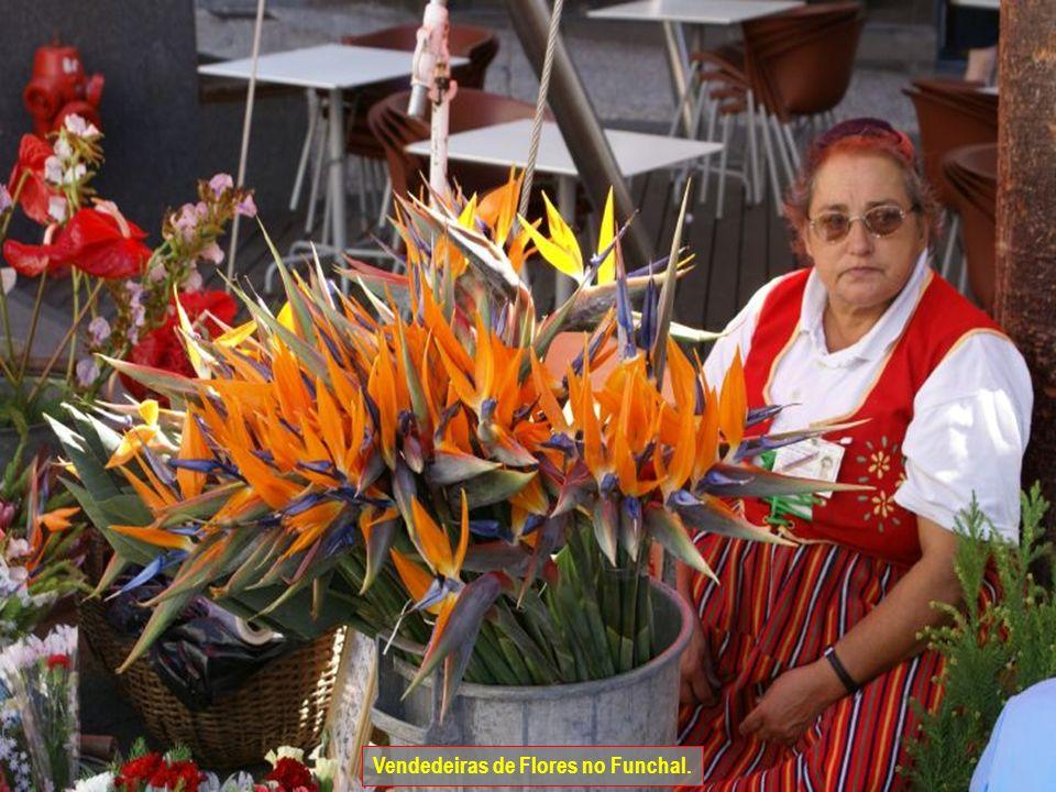 Vendedeiras de Flores no Funchal.