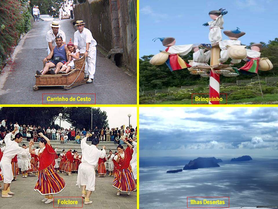 Carrinho de Cesto Brinquinho Folclore Ilhas Desertas