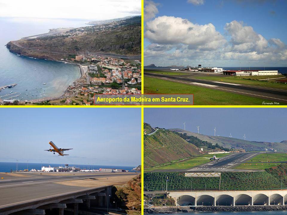 Aeroporto da Madeira em Santa Cruz.