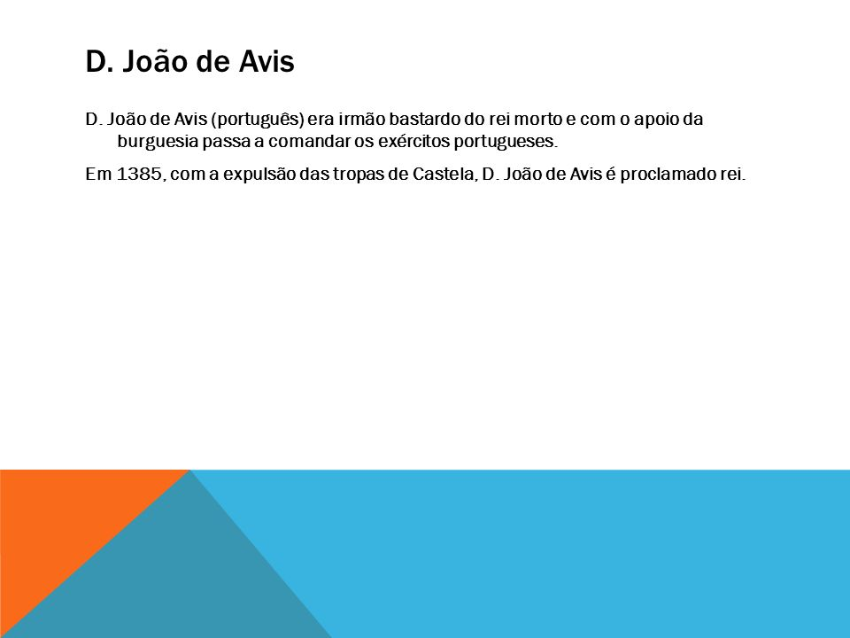 D. João de Avis