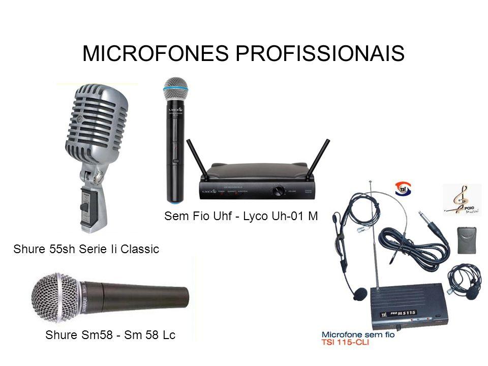 MICROFONES PROFISSIONAIS