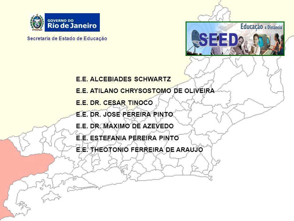 SEED Secretaria de Estado de Educação E.E. ALCEBIADES SCHWARTZ