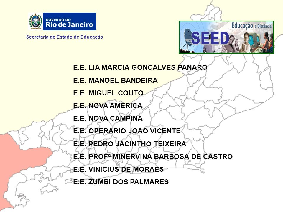 SEED Secretaria de Estado de Educação E.E. LIA MARCIA GONCALVES PANARO
