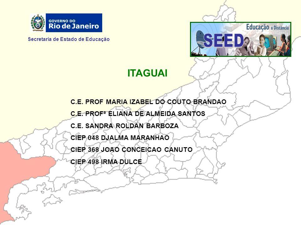 SEED ITAGUAI Secretaria de Estado de Educação