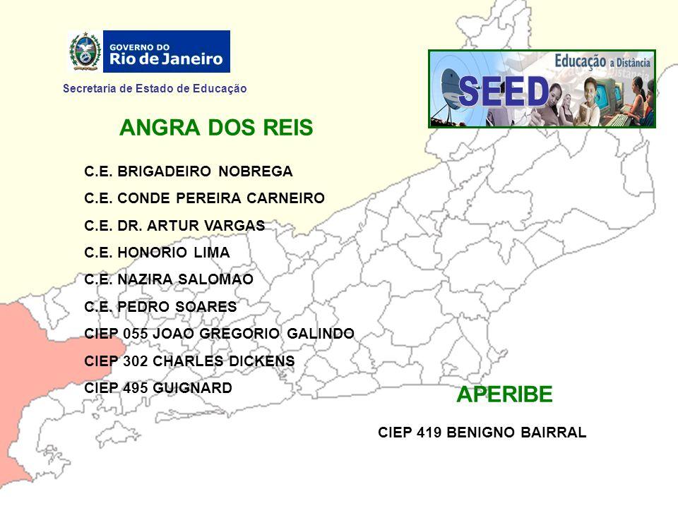 SEED ANGRA DOS REIS APERIBE Secretaria de Estado de Educação