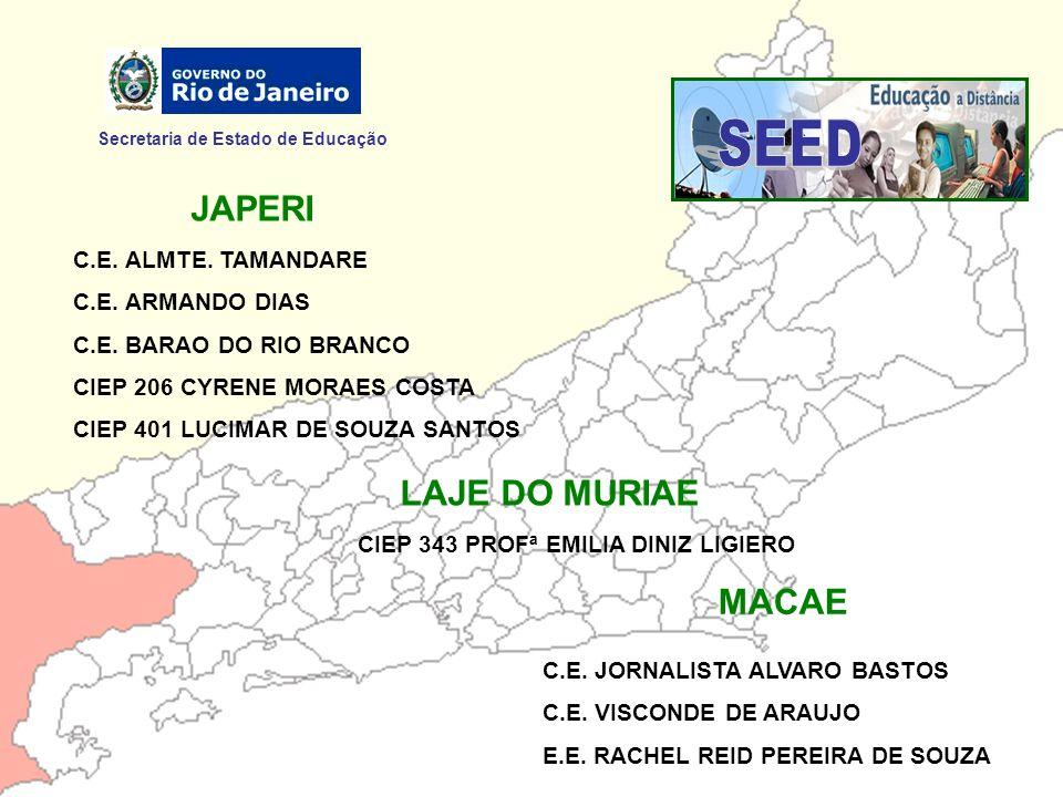 SEED JAPERI LAJE DO MURIAE MACAE Secretaria de Estado de Educação