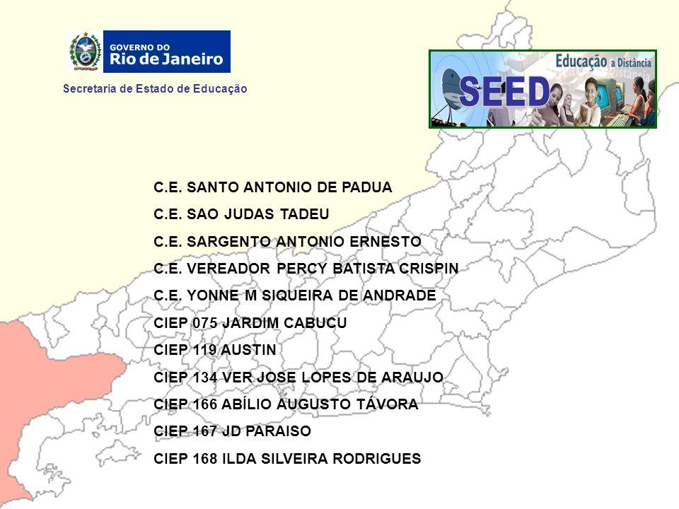 SEED Secretaria de Estado de Educação C.E. SANTO ANTONIO DE PADUA
