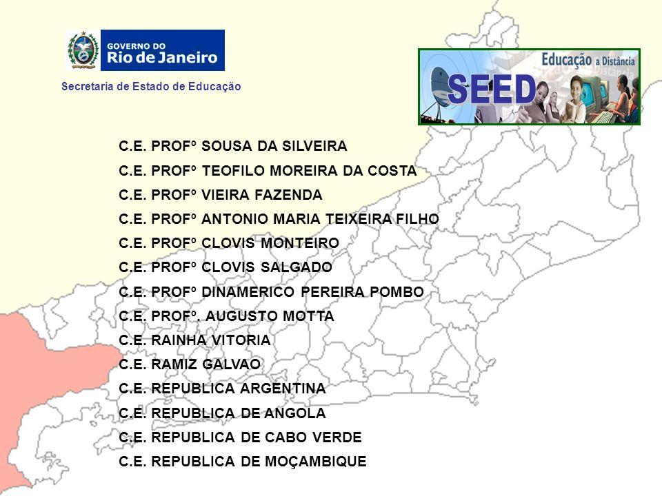 SEED Secretaria de Estado de Educação C.E. PROFº SOUSA DA SILVEIRA