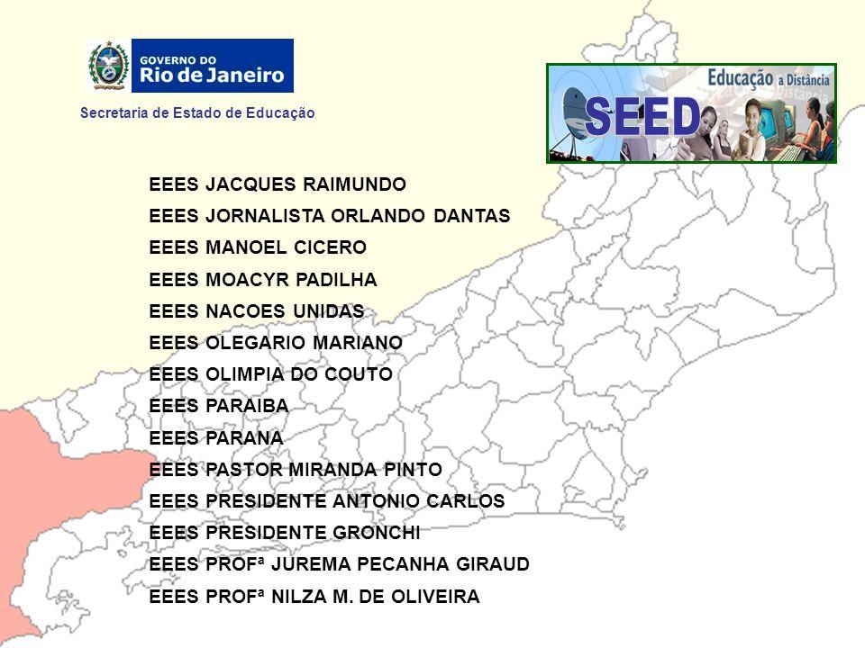 SEED Secretaria de Estado de Educação EEES JACQUES RAIMUNDO