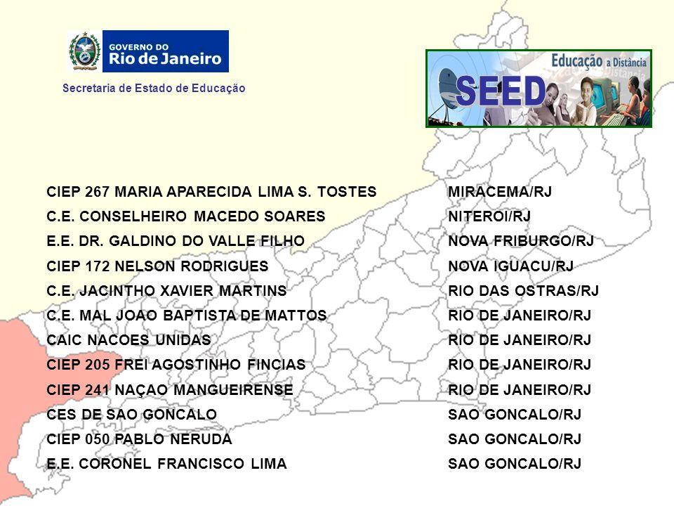 SEED Secretaria de Estado de Educação