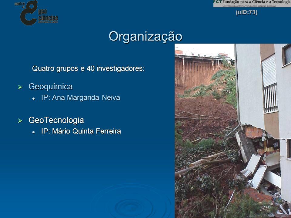 Organização Geoquímica GeoTecnologia