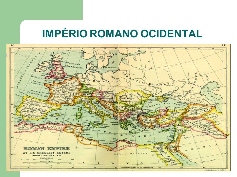 IMPÉRIO ROMANO OCIDENTAL