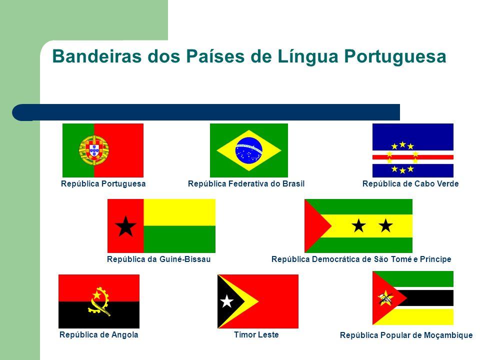 Bandeiras dos Países de Língua Portuguesa