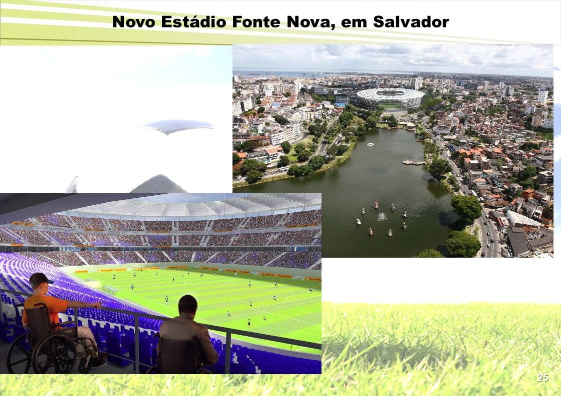 Novo Estádio Fonte Nova, em Salvador